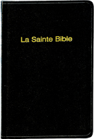 Bible format poche, skivertex, noir