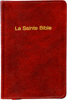 Bible format poche, skivertex, grenat