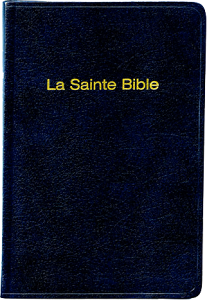Bible format poche, skivertex, bleu