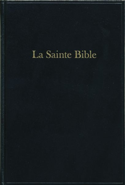 Bible format moyen, skivertex, noir
