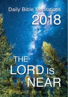 The Lord is near, anglais, livre 2018